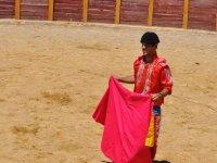 Disfrazado de torero en Granada