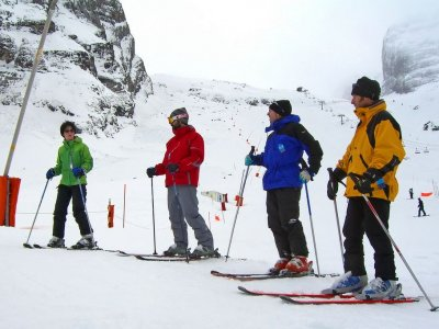 Rent all ski equipment, 1 day