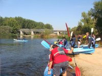 Route in canoe