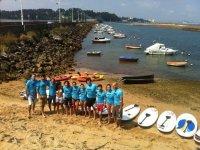 组类组桨冲浪