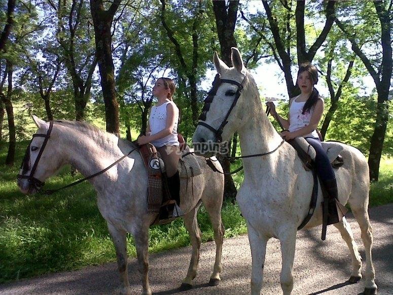 A caballo por Cazalla de la Sierra