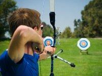 Sessione di tiro con l'arco
