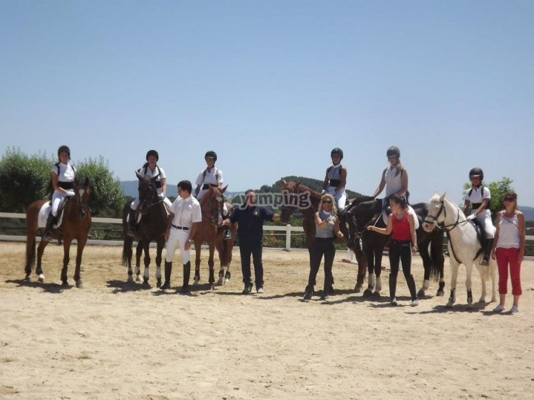 Horse riding in Barcelona