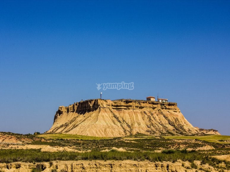 Discover the Bardenas Reales on a 4x4