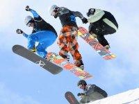 snowboard a Leon