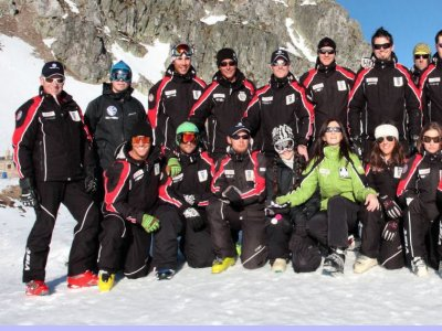 Puerto San Isidro私人滑雪课程,1小时