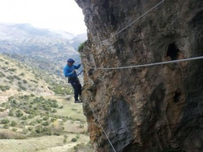 Vía ferrata de Antequera, Granada, 4 horas