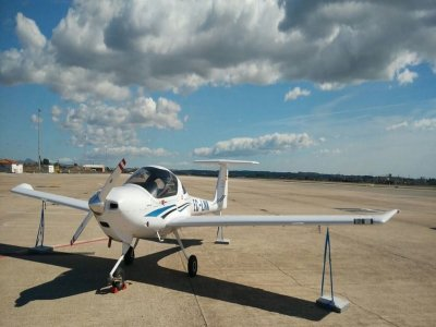 30-Min Initiatory Flight in Diamond DA 20, Reus