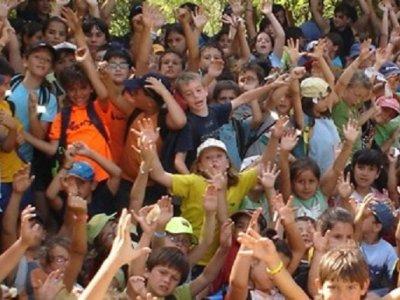 Fiesta infantil multiaventura para escolares 3 h.
