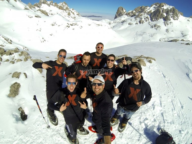 Raquetas de nieve Cantabria