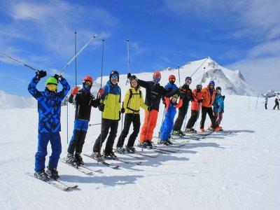 马德里滑雪场6天,年龄15至19岁
