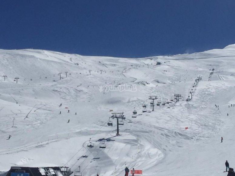 Esquiar en Sierra Nevada