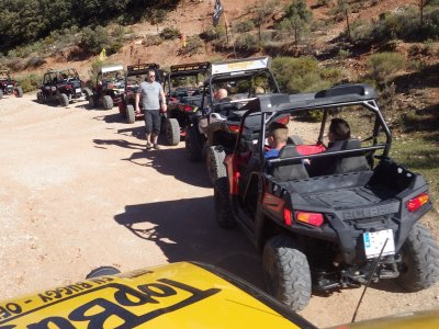 Route of the Bandits in buggy and breakfast 2 pax