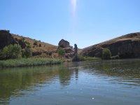 Hoces del Duranton desde el rio