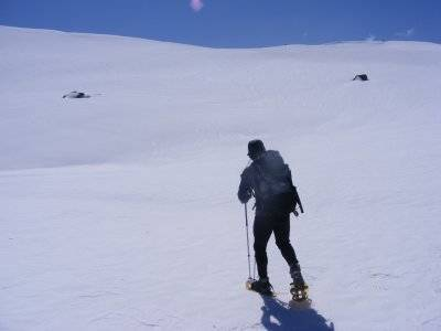 Ruta de raquetas de nieve en Gredos, 4 horas