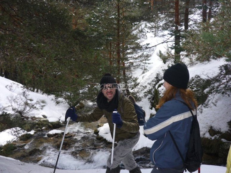 Snowshoeing in the High Pyrenees
