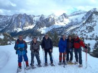Snowshoeing in Catalonia