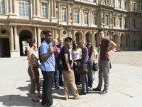 Programa social, excursiones en Paris.