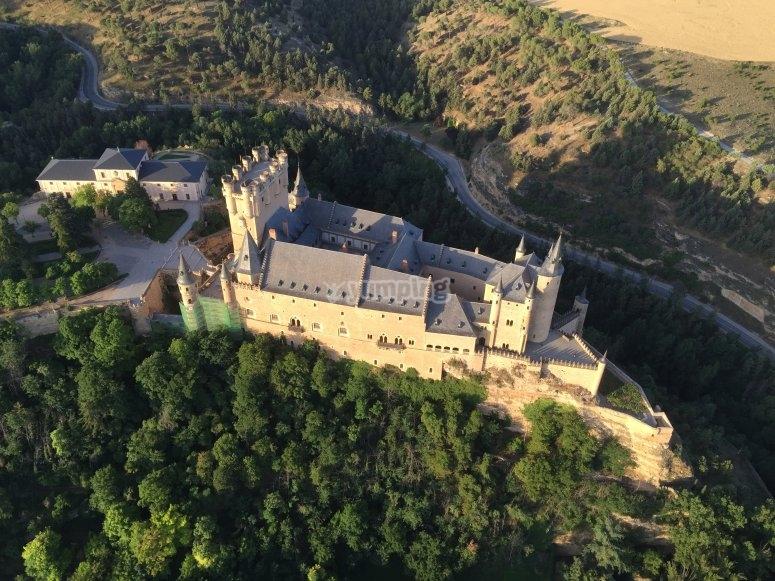Vistas del Alcázar de Segovia