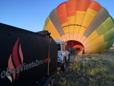 Balloon flight in Toledo + brunch + DVD, Kids