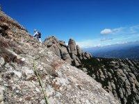 登山攀岩蒙特塞拉特蒙特塞拉特