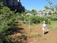 Hiking in El Torcal, Antequera