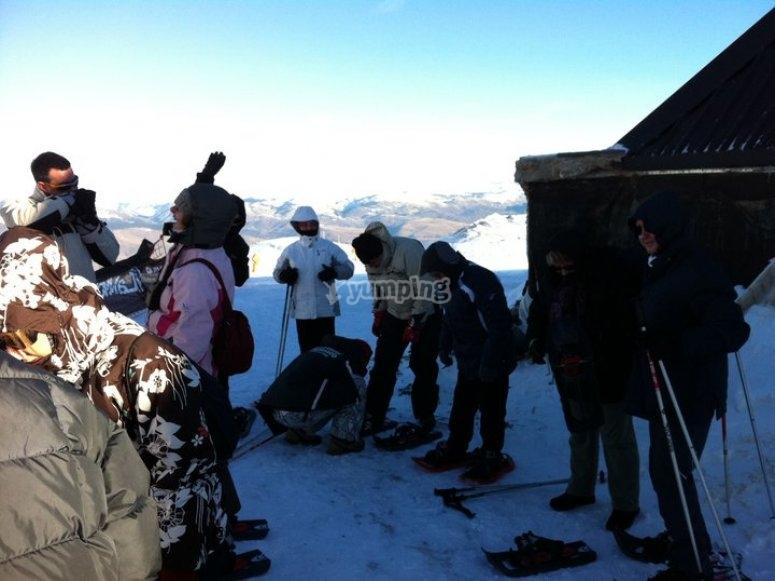 在La Molina滑雪