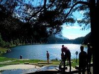 Lago durante la visita guiada