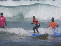 Young student surf