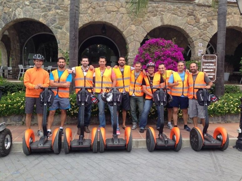 Segway trip over the historic centre