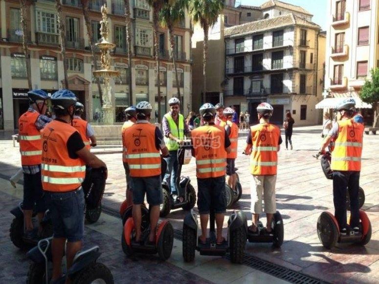 Malaga en segway