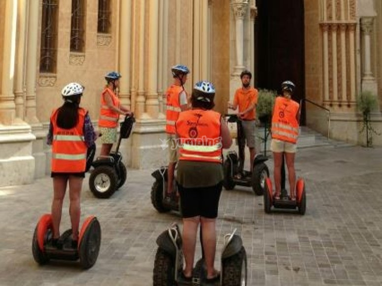 Guided trip in segway