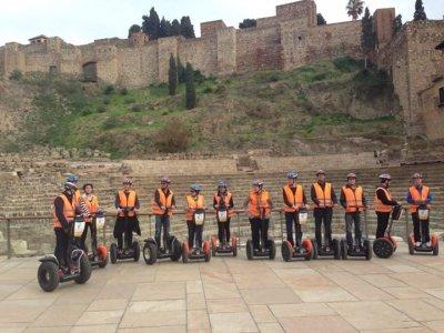 1h segway trip in historic centre in Málaga