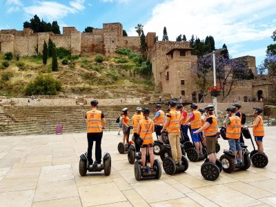 Segway ride from Málaga to Gibralfaro 2hrs