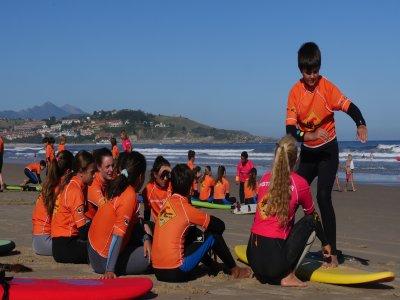 H2O Escuela de Surf Campamentos de Surf