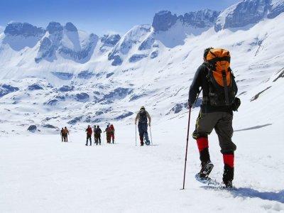 Excursión nórdica por Valle de Hecho 6 horas