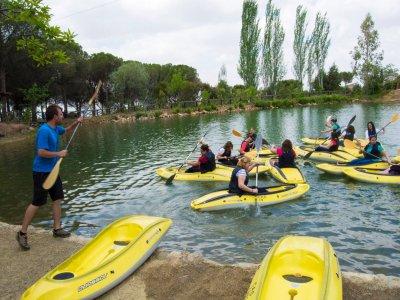 Ruta BTT y kayak embalse de los Molinos Hornachos