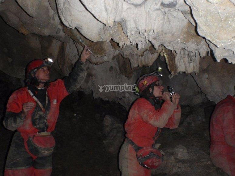 一次非凡的山洞洞内