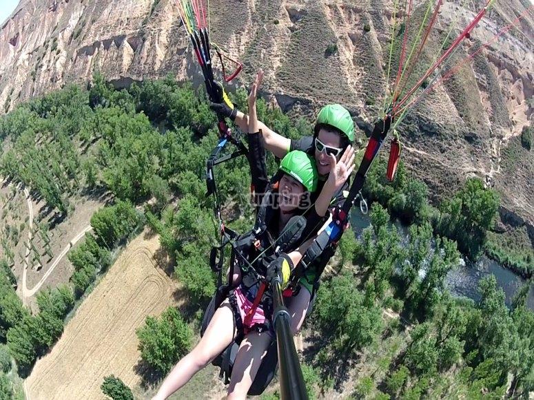 Paragliding in la Alcarria