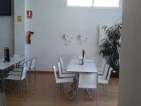 食堂室内放松在我们的食堂食堂所有