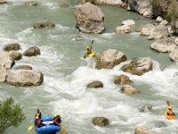 Kayak y rafting