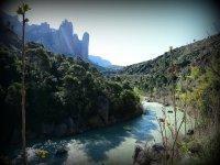 Adentrate en el río Gallego