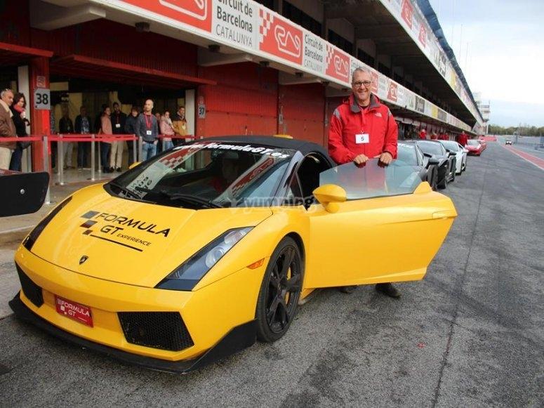 Tras vivir la experiencia de pilotar un Lamborghini