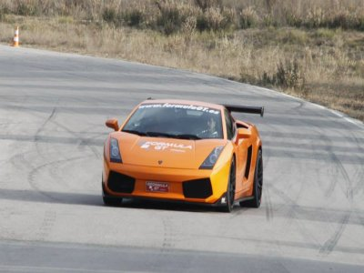 1 lap in a Lamborghini Gallardo in Campillos