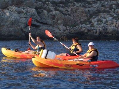 皮划艇路线在Las Canteras海滩1小时30分钟