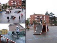 Mobile skate park