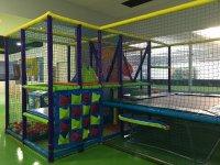 Parque de bolas en las instalaciones