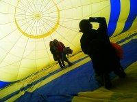 Photos in the balloon