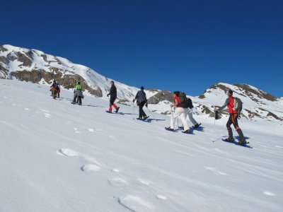 Snowshoes Route through Viella, 1 day