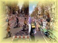 Circuito doble de bicicletas